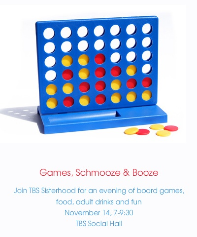 Sisterhood game night 11-14-2015