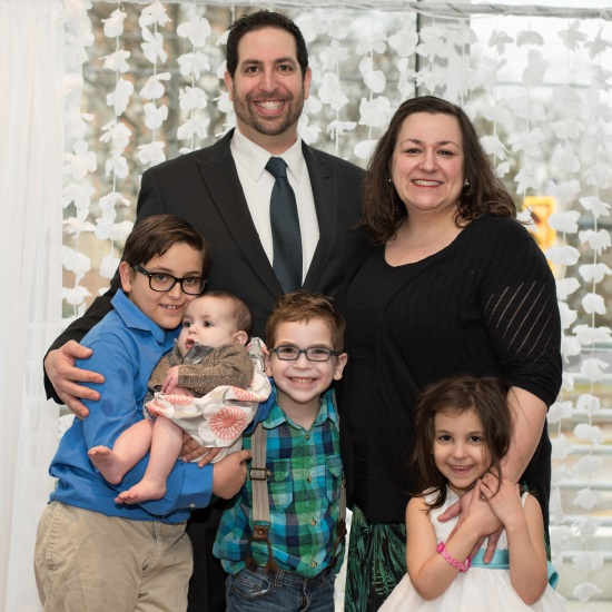 Leah Levenstein and family