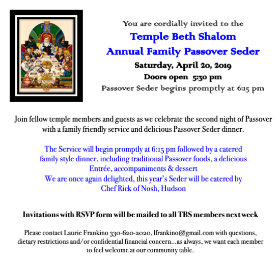 Passover 2019 save-the-date